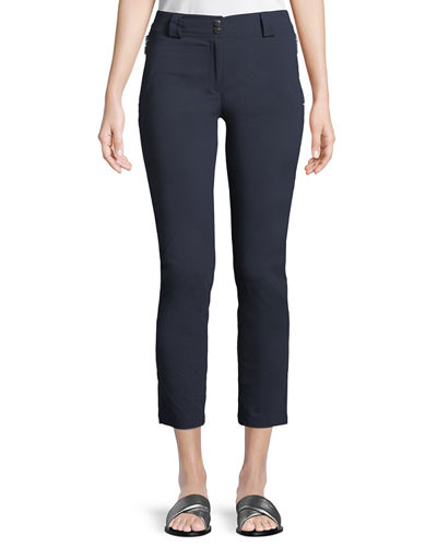 Susan Ankle-Zip Pants