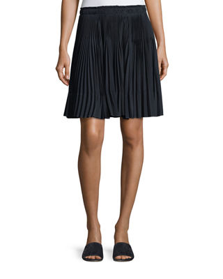 Multi Pleated Short Skirt by Neiman Marcus