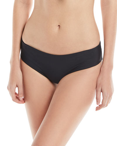 Cruz Bay Low-Rise Hipster Solid Swim Bottoms