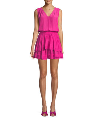 Raquel Sleeveless Mini Dress by Ramy Brook