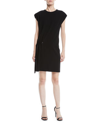 Etta Side Tie Crewneck Short Dress by Rag & Bone