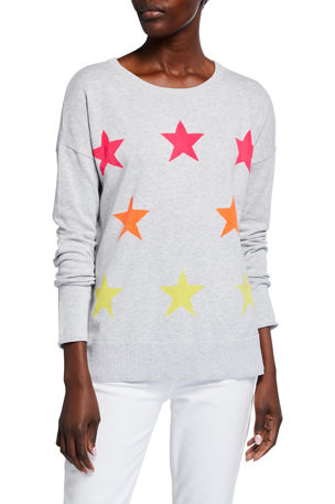 Lisa Todd Star Struck Long-Sleeve Cotton Sweater
