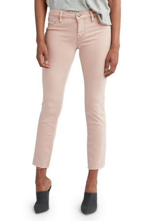 Hudson Tally Mid-Rise Skinny Cropped Jeans