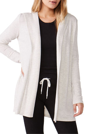 Monrow Super-Soft Hooded Cardigan