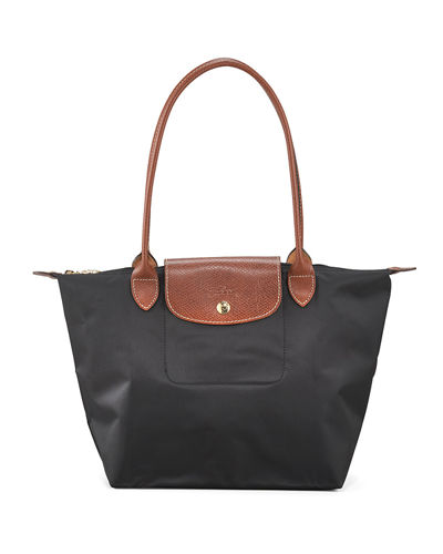 Longchamp Le Pliage Medium Monogram Shoulder Tote Bag