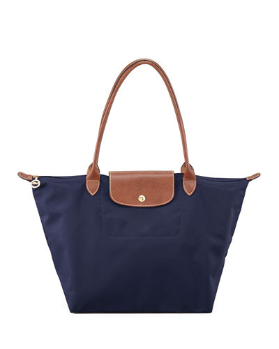 Le Pliage Large Monogram Shoulder Tote Bag