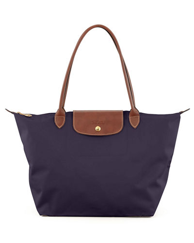 Longchamp Le Pliage Large Monogram Shoulder Tote Bag