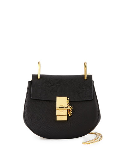 Drew Mini Lambskin Shoulder Bag