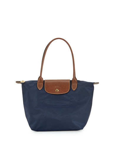 Le Pliage Medium Monogram Shoulder Tote Bag