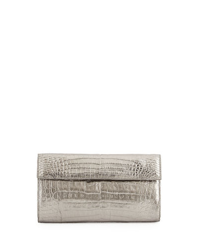 Small Double-Flap Clutch Bag