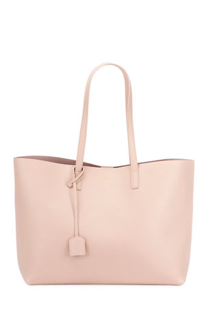 Saint Laurent East West Calfskin Shopping Tote Bag