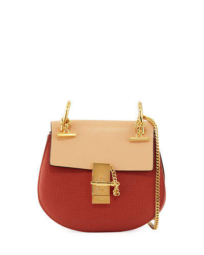 Chloe Drew Mini Colorblock Shoulder Bag