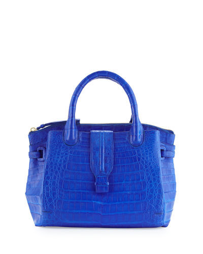 New Cristina Medium Crocodile Tote Bag