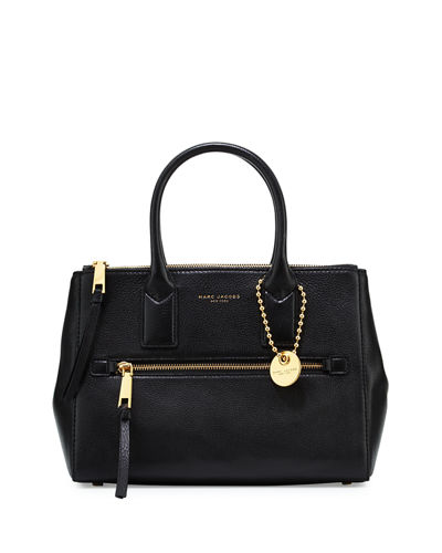 Recruit East-West Tote Bag, Black