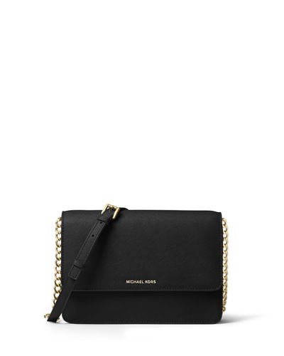 Daniela Large Saffiano Crossbody Bag