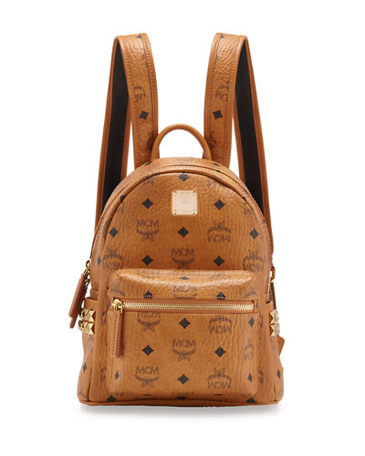 Stark Side-Stud Mini Backpack, Black