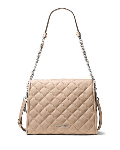 Rachel Medium Quilted Leather Satchel Bag