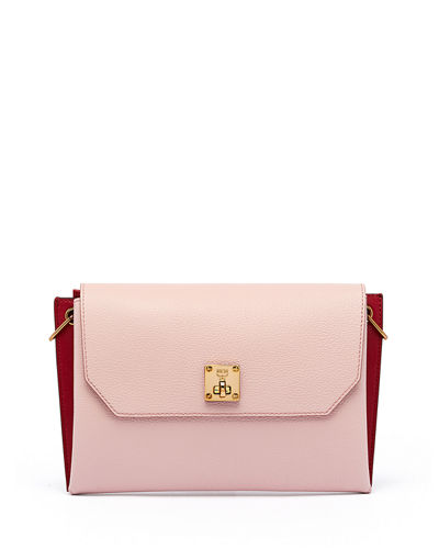 Milla Small Leather Clutch Bag