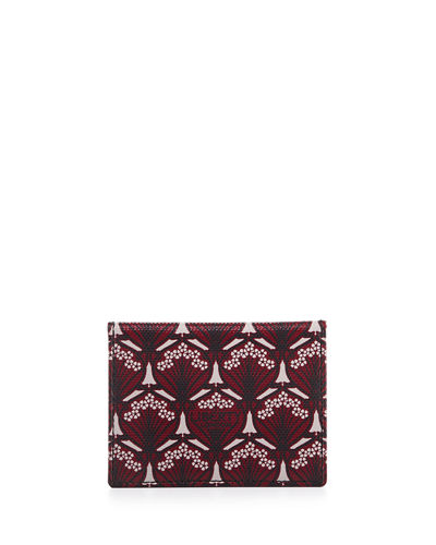 Liberty London Iphis-Print Travel Card Case