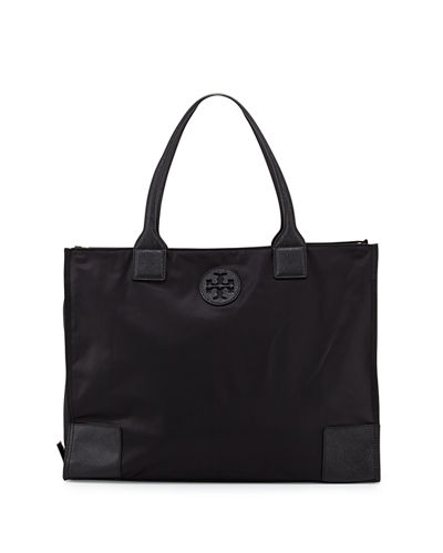 Ella Packable Nylon Tote Bag