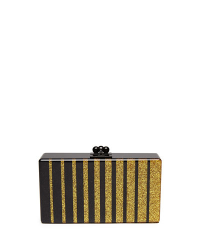 Edie Parker Jean Fade Box Clutch Bag