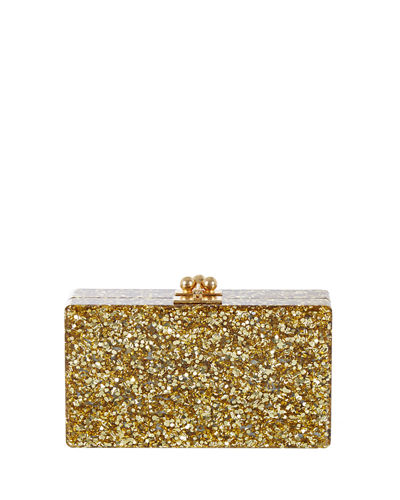 Jean Solid Acrylic Clutch Bag