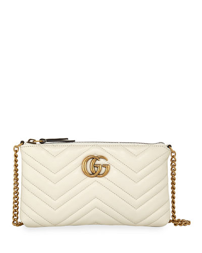 GG Marmont Mini Matelassé Chain Bag