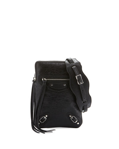 Classic Phone Holder Bag, Black