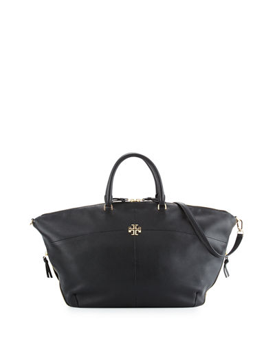 Ivy Slouchy Leather Satchel Bag