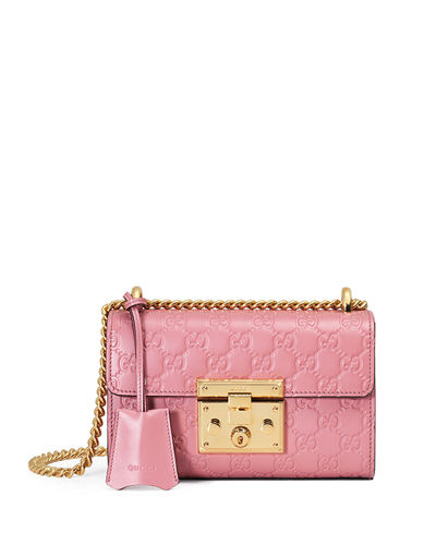 Padlock Gucci Signature Small Shoulder Bag