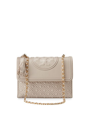 Tory Burch Fleming Quilted Convertible Shoulder Bag