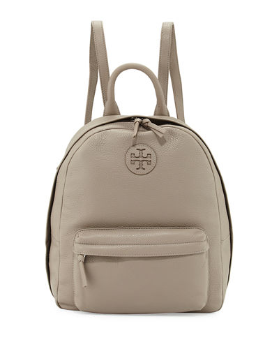 Zip-Around Leather Backpack