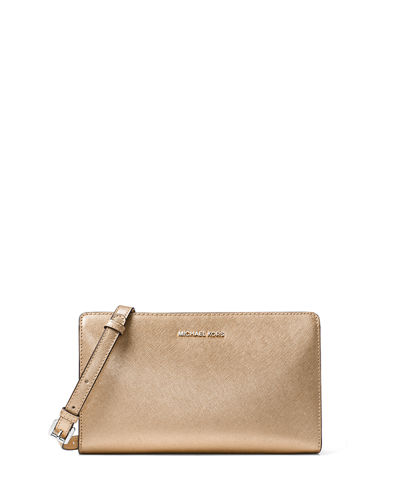 Jet Set Travel Large Crossbody Clutch Bag