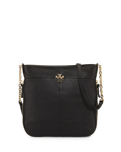 Ivy Leather Convertible Shoulder Bag