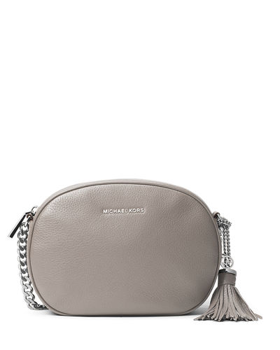 MICHAEL Michael Kors Ginny Medium Leather Messenger Bag