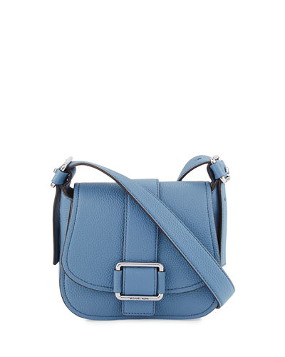 Maxine Medium Leather Saddle Bag