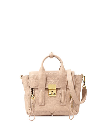 Pashli Mini Leather Satchel Bag