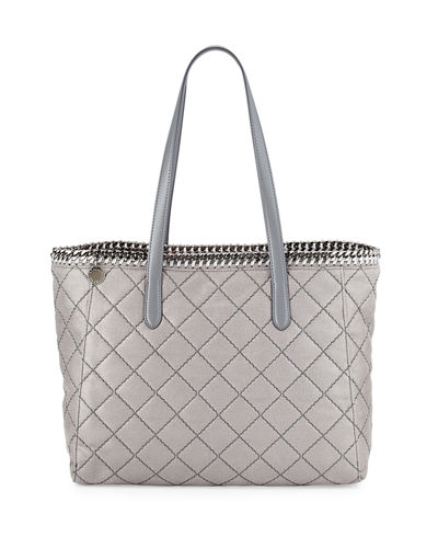 Falabella East-West Quilted Tote Bag