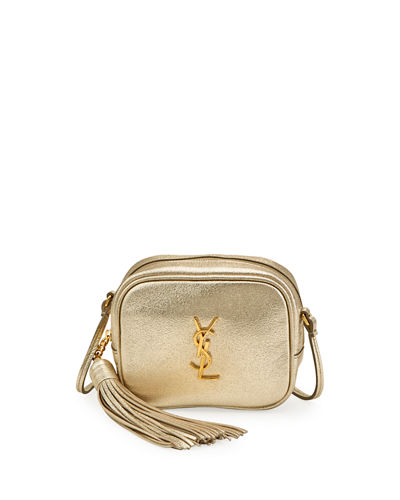 YSL Monogram Blogger Crossbody Bag