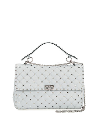 Rockstud Matelassé Large Shoulder Bag