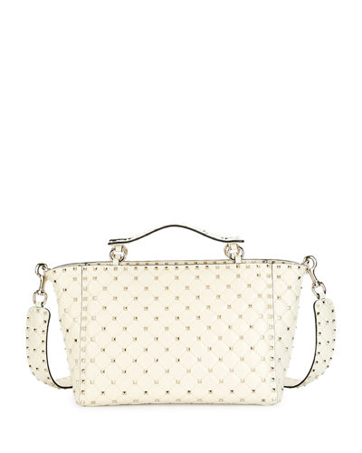 Rockstud Medium Quilted Leather Tote Bag