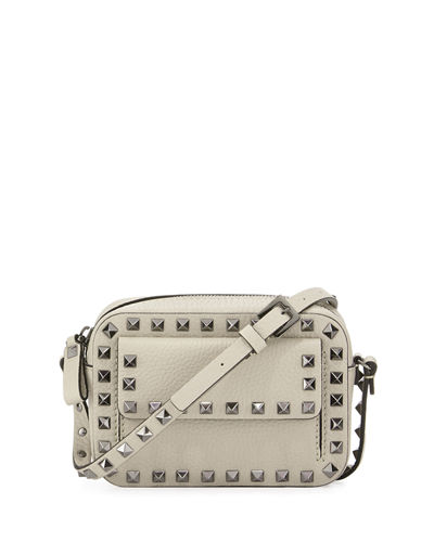 Rockstud Small Flap Pocket Camera Crossbody Bag