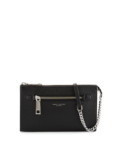 Gotham Small Leather Crossbody Bag