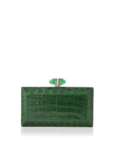 Coffered Crocodile Minaudiere