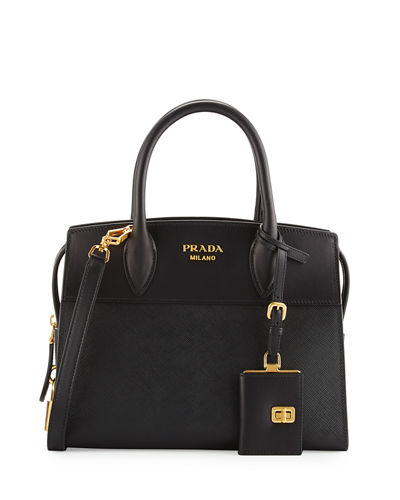 Prada Esplanade Small City Satchel Bag