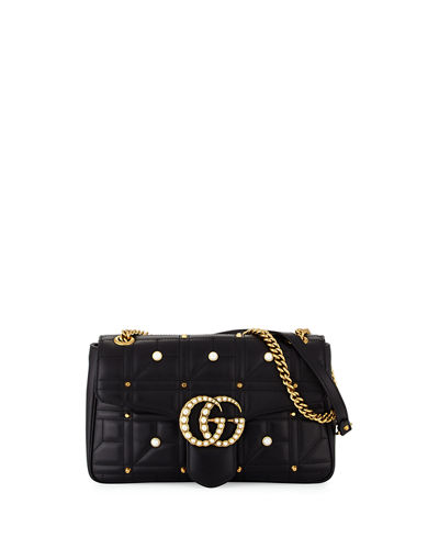 GG Marmont 2.0 Medium Pearly Shoulder Bag