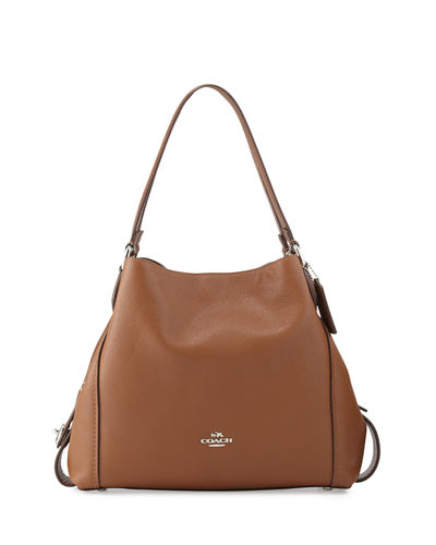Edie 31 Leather Shoulder Bag