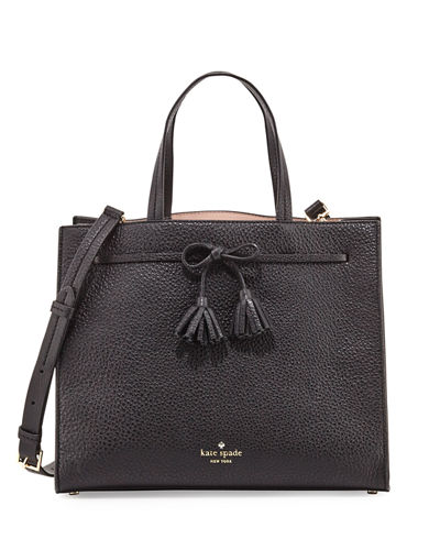 hayes street isobel leather satchel bag