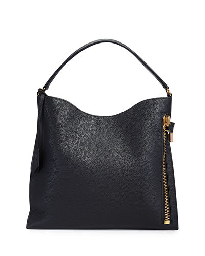 Alix Small Calfskin Shoulder Bag