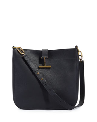 TOM FORD Grained Leather Tara Hobo Bag